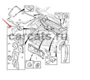 Изоляционная защитная пластина отсека двигателя