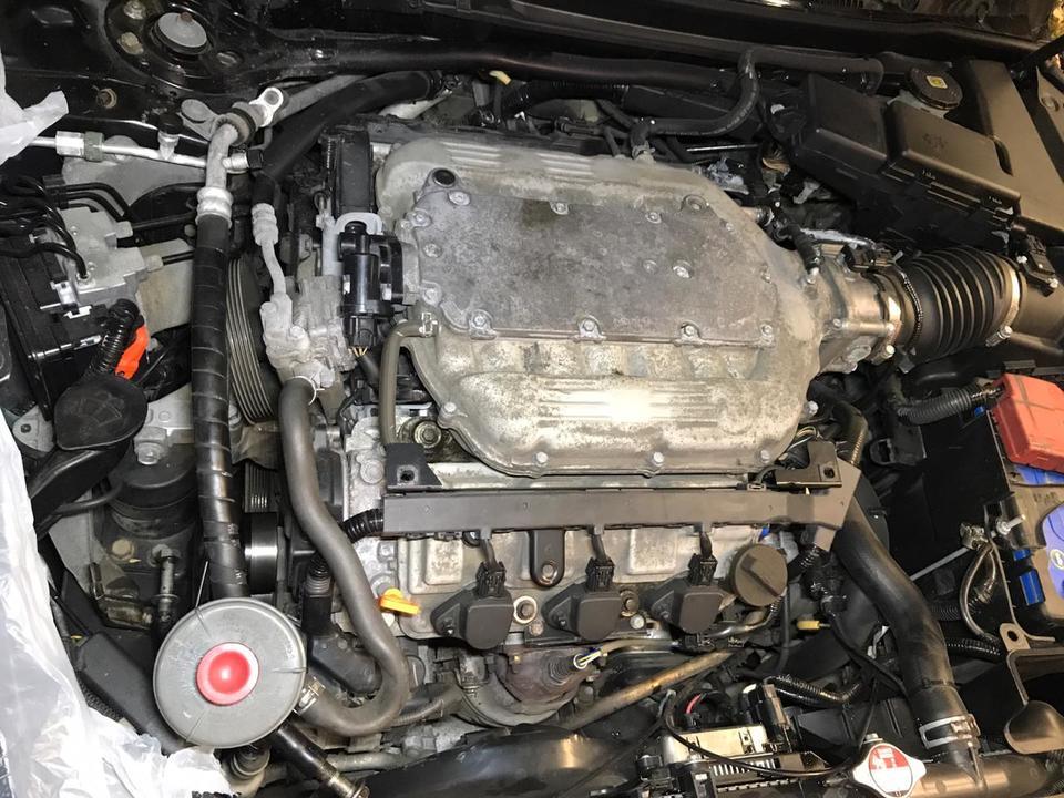 Регулировка клапанов двигателя J37A3
